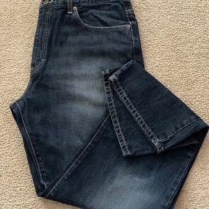 Calvin Klein Jeans - MENS CALVIN KLEIN RELAXED STRAIGHT JEANS SZ 36